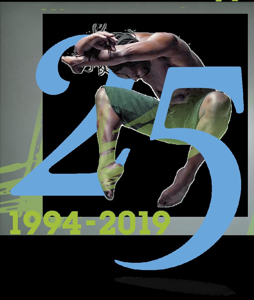 25 years graphic